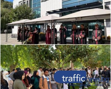 МУ-Пловдив посрещна близо 500 чуждестранни студенти