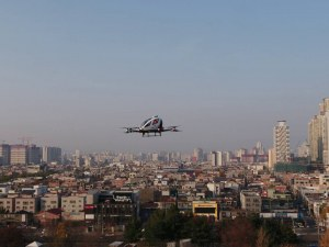 Летящите таксита са съвсем близо до редовни полети над многомилионен Сеул