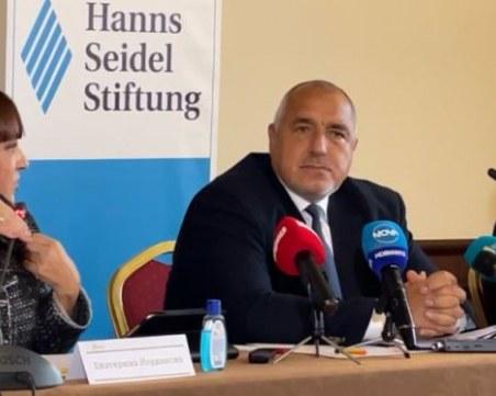 Бойко Борисов от Пловдив: АМ Тракия преди беше гордост, а сега е опасно съоръжение