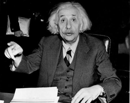 На този ден: Айнщайн описва в писмо до Рузвелт възможността да бъде произведена атомна бомба