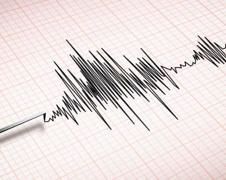 Земетресение тази сутрин край Айтос