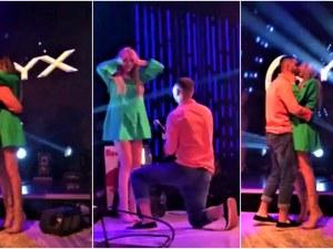 Романтично предложение за брак под звуците на Менделсон в ONYX Club