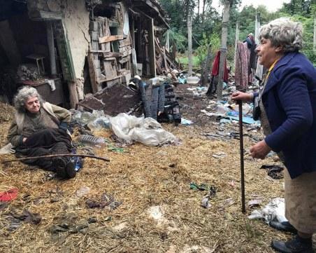 Две незрящи сестри бедстват, след като къщата им изгоря