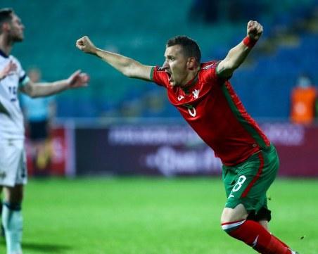 Страхотни голове на Неделев донесоха втора победа за България в квалификациите