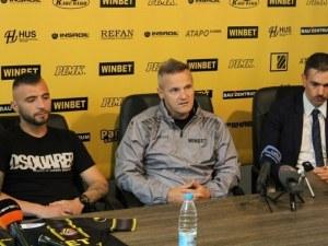 Валентич: Не съм тук, защото сме приятели със Зингаревич, а защото си върша работа