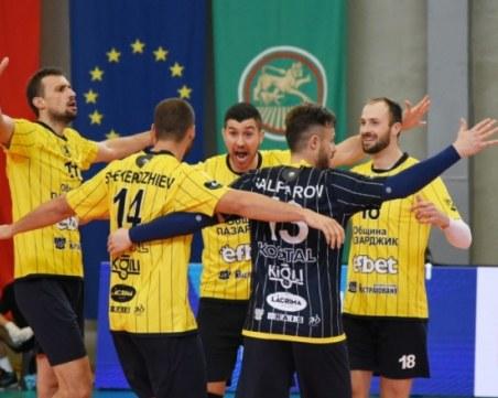 Хебър грабна Суперкупата на България по волейбол