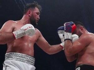 Хюи Фюри се завърна с победа на ринга – отказа германец в петия рунд
