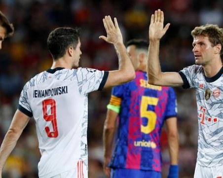 Барселона търси задължителна победа, Юнайтед с тежко домакинство в днешните мачове в Шампионската лига