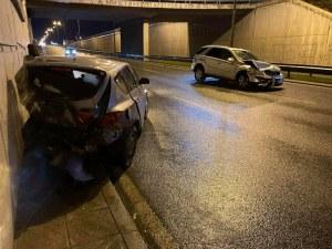 Съставиха акт за шофьора, ударил колата на Светльо Витков
