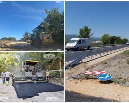 Европейски пътища: Странно е! Ремонтираме основни пътища в Пловдивско, а може да ги спрат в това състояние