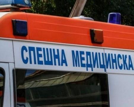 Козирка на вход се срути в София, има пострадал