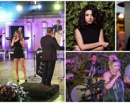 Четири млади дами пеят песни от емблематични филми на Plovdiv Jazz Fest