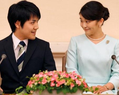 Японската принцеса Мако се омъжи и загуби титлата си