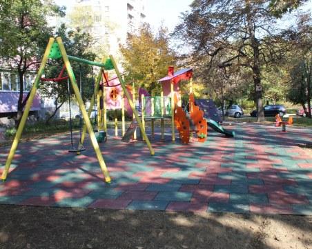 "Поредна нова детска площадка изградиха в район ""Северен"